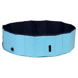 Бассейн для собак Trixie, 160x30 см, сине-голубой