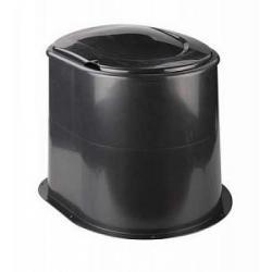 Туалет дачный Эконом (черный)