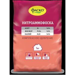 Удобрение минеральное сухое Нитроаммофоска, 1 кг